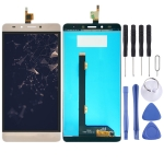 LCD Screen and Digitizer Full Assembly for Tecno Infinix Note 3 Pro X601(Gold)