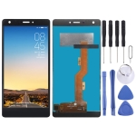 LCD Screen and Digitizer Full Assembly for Tecno Boom J8 (Black)