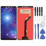 LCD Screen and Digitizer Full Assembly for Tecno C9 (Black)