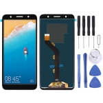 LCD Screen and Digitizer Full Assembly for Tecno Camon CM CA6 (Black)