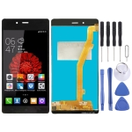 LCD Screen and Digitizer Full Assembly for Tecno L8 (Black)