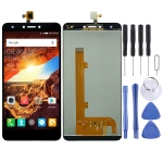 LCD Screen and Digitizer Full Assembly for Tecno Spark Plus K9 (Black)