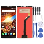LCD Screen and Digitizer Full Assembly for Tecno Spark Youth KA6 (Black)
