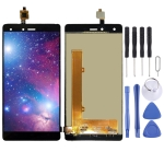 LCD Screen and Digitizer Full Assembly for Tecno W3 (Black)