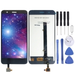 LCD Screen and Digitizer Full Assembly for Tecno W4 (Black)