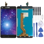 LCD Screen and Digitizer Full Assembly for Tecno W5 Lite (Black)