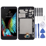 LCD Screen and Digitizer Full Assembly with Frame for LG K30 / K10 (2018) / X410 (Black)