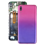 Original Battery Back Cover with Camera Lens & Side Keys for Huawei Y7 Pro (2019)(Purple)
