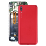 Original Battery Back Cover with Camera Lens & Side Keys for Huawei Y7 Pro (2019)(Red)