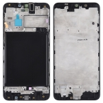 Front Housing LCD Frame Bezel Plate for Galaxy A10 (Black)