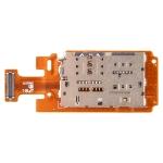 SIM Card Holder Socket Flex Cable for Galaxy Tab A 10.5 / T595