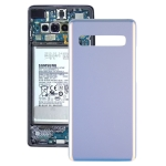 Battery Back Cover for Galaxy S10 5G SM-G977B / SM-G977U / SM-G977N(Silver)