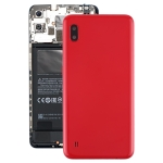 Battery Back Cover with Camera Lens & Side Keys for Galaxy A10 SM-A105F/DS, SM-A105G/DS(Red)
