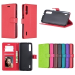 Crazy Horse Texture Horizontal Flip Leather Case with Holder & Card Slots & Wallet & Photo Frame For Xiaomi Mi 9(purple)