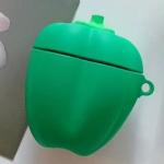Universal Wireless Bell Pepper Bluetooth Headphone Holder for AirPods 1 / 2(Green)