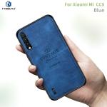 PINWUYO Shockproof Waterproof Full Coverage PC + TPU + Skin Protective Case  for Xiaomi Mi CC9 / CC9 Mito Custom Edition(Blue)
