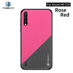 PINWUYO Honors Series Shockproof PC + TPU Protective Case for Xiaomi Mi CC9 / CC9 Mito Custom Edition(Red)