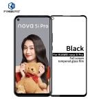 PINWUYO 9H 2.5D Full Screen Tempered Glass Film For Huawei Nova5i Pro(Black)