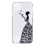 Stylish and Beautiful Pattern TPU Drop Protection Case for iPhone XIR 2019(Butterfly girl)