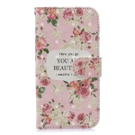 3D Painting Pattern Coloured Drawing Horizontal Flip PU Leather Case with Holder & Card Slots & Wallet For Galaxy J6 (2018) (EU version)(Rose)