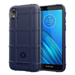 Full Coverage Shockproof TPU Case for Motorola E6(Blue)