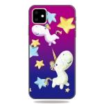 Pattern Printing Embossment TPU Mobile Case For iPhone XIR 2019(Pegasus)