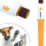 Pet Electric Pet Dog Cat Puppy Claw Toe Nail Pedicure Grinder Clipper Trimmer Tool