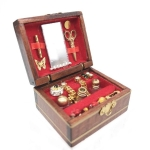 Doll House Mini Vintage Jewelry Box Accessories Children Educational Toys