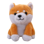 Intelligent Simulation Plush Electric Repeating Pet Dog Toy Children Birthday Gift(Shiba Inu)