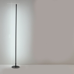 Minimalist Creative Bedroom Living Room Personality Atmosphere Light LED Floor Lamp(White Light)