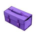 2 PCS Mark Touch Pen Bag Sketch Storage Bag Holders Painting Bag, Size:120 color pencil case(Purple)