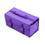 2 PCS Mark Touch Pen Bag Sketch Storage Bag Holders Painting Bag, Size:168 color pencil case(Purple)