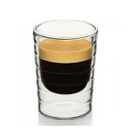 2 PCS Coffee Cup Double Wall Glass Clear Insulated Espresso Cups Heat-resistant Tea Cup