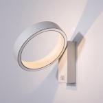 Bedroom Living Room Study Modern Minimalist Rotatable Wall Lamp Corridor Lamp, Power source: Warm White(Sand White )