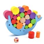 Baby Balance Training Dolphin Building Blocks Children Educational Early Education Toys