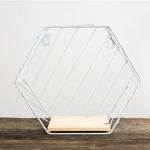 Wall Mounted Desk Storage Basket Magazine Paper Organizer Holder(Twill White)