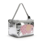 Cartoon Animal Simple Insulated bag Insulated Folding Cooler Bag Small Meal Lunch Picnic Bag(Elephant)