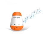 Music Portable Smart Therapy Sound Machine Baby Rechargeable Voice Sensor White Noise Infants Sleep Monitor