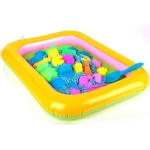 Children Inflatable Sand Table Transparent Inflatable Pool, Size: 61 x 46 x 8cm, Random Color Delivery