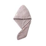 Women Towels Bathroom Microfiber Towel Hair Towel Bath Towels Dry Hair Cap(Pink+Purple Ripple)