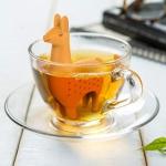 5 PCS Silicone Tea Strainer Filter Creative Drinkware Accessories