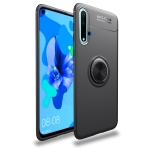 Shockproof TPU Case for Huawei Nova 5 / Nova 5 Pro, with Invisible Holder (Black)