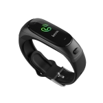 HAMTOD V08S 0.96 inch TFT Screen Smart Watch Smart Bracelet, Support Call Reminder / Heart Rate Monitoring / Blood Pressure Monitoring / Sleep Monitoring