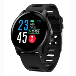 S08 1.3 inch IPS Color Screen IP68 Waterproof Smart Watch, Support Call Reminder /Heart Rate Monitoring /Blood Pressure Monitoring /Sleep Monitoring (Black)