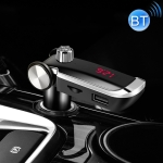 ZTB-018 Dual USB Charging Bluetooth FM Transmitter MP3 Player Car Kit, Support Hands-Free Call  & TF Card & U Disk