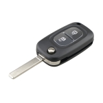 For RENAULT Clio / Megane / Kangoo / Modus Car Keys Replacement 2 Buttons Car Key Case with Foldable Key Blade