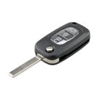 For RENAULT Clio / Megane / Kangoo / Modus Car Keys Replacement 3 Buttons Car Key Case with Foldable Key Blade