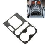 Car Carbon Fiber Gearshift Panel Frame Decorative Sticker for Volkswagen Touareg