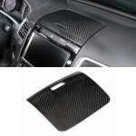 Car Carbon Fiber Instrument Panel Storage Panel Frame Decorative Sticker for Volkswagen Touareg