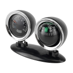 2 in 1 Guide Ball Car Guidance Compass Thermometer Cars Auto Dashboard
